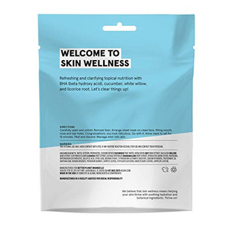 Acure - Sheet Mask - Clear - Case of 12 - 1 Ea