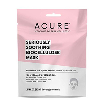 Acure - Biocellulcose Mask - Soothe - Case of 12 - 1 Ea