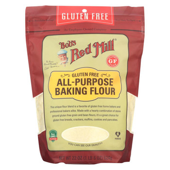 Bob's Red Mill - Baking Flour All Purpose - Case of 4-22 oz