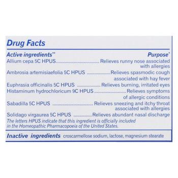 Boiron Sabadil Allergy - 60 Tablets