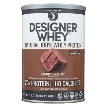 Designer Whey - Protein Powder - Chocolate - 12.7 oz