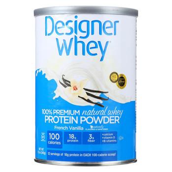Designer Whey - Protein Powder - French Vanilla - 12 oz