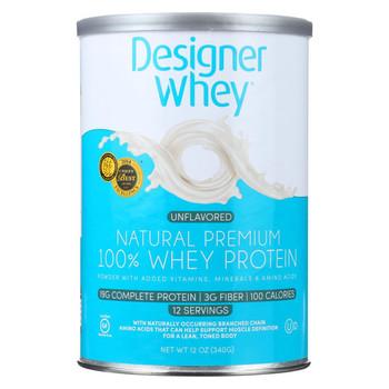 Designer Whey - Natural Whey Protein - 12 oz