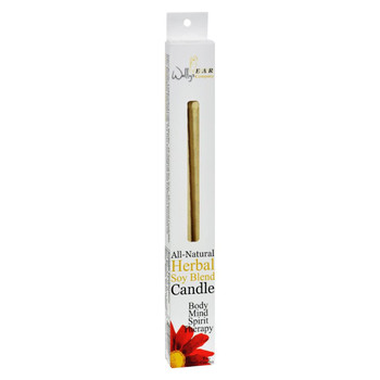 Wally's Natural Products Herbal Paraffin Ear Candle - 2 Pk