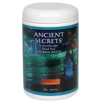 Ancient Secrets Aromatherapy Dead Sea Mineral Baths Eucalyptus - 2 lbs
