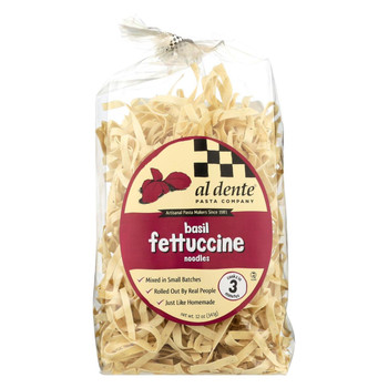 Al Dente Fettucine - Basil - Case of 6 - 12 oz.