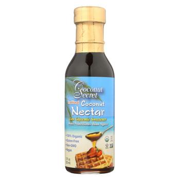 Coconut Secret - Raw Nectar - Coconut - Case of 12 - 12 Fl oz.