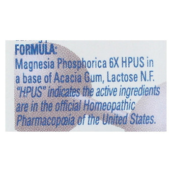 Hylands Homeopathic Number 8 Magnesia Phosphorica 6X - 500 Tablets