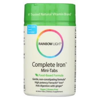 Rainbow Light Complete Iron Mini-Tabs - 60 Tablets