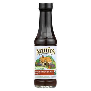 Annie's Naturals Organic Vegan Worcestershire Sauce - Case of 12 - 6.25 fl oz.
