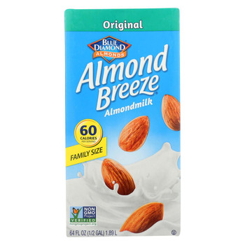 Almond Breeze - Almond Milk - Original - Case of 8 - 64 fl oz.