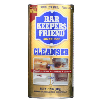 Barkeepers Friend Bar Keepers Friend - Case of 12 - 12 oz