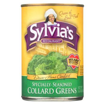 Sylvia's Collard Greens - Case of 12 - 14.5 oz.