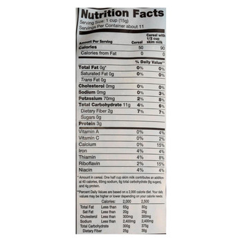 Arrowhead Mills - Organic Puffed Kamut Cereal - Case of 12 - 6 oz.