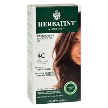 Herbatint Haircolor Kit Ash Chestnut 4C - 4 fl oz