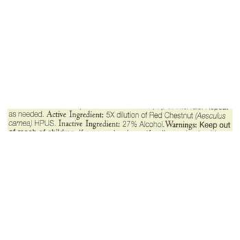 Bach Flower Remedies Essence Red Chestnut - 0.7 fl oz