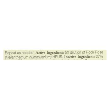 Bach Flower Remedies Essence Rock Rose - 0.7 fl oz