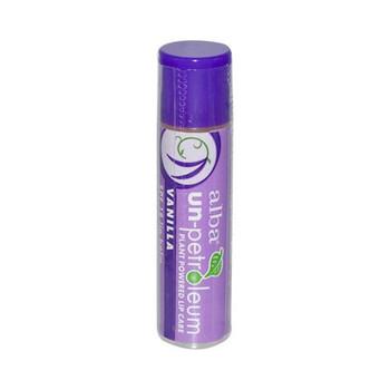 Alba Un-Petroleum Lip Balm with SPF-18 Vanilla - 0.15 oz - Case of 24