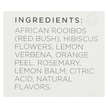 Tazo Tea Tea - Scarlet Citrus Rooibos - Case of 6 - 20 BAG