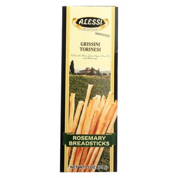 Alessi - Breadsticks Rosemary - Case of 3 - 3 oz.