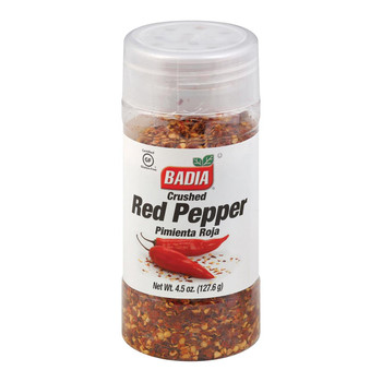 Badia Spices - Crushed Red Pepper - 4.5 oz.