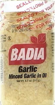 Badia Spices - Minced Garlic Oil - 8 oz.