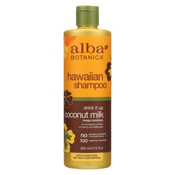 Alba Botanica - Natural Hawaiian Shampoo Drink It Up Coconut Milk - 12 fl oz