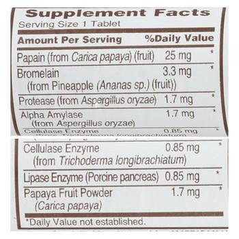American Health - Super Papaya Enzyme Roll - Case of 16 - 12 TAB