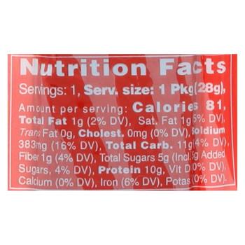 Primal Strips Vegan Jerky - Meatless - Shiitake Mushrooms - Hot and Spicy - 1 oz - Case of 24