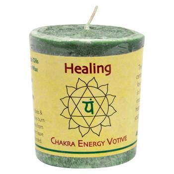 Aloha Bay Chakra Votive Candle - Healing - Case of 12 - 2 oz