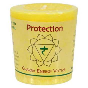 Aloha Bay - Chakra Votive Candle - Protection - Case of 12 - 2 oz