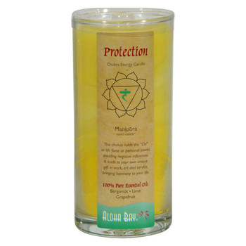 Aloha Bay - Chakra Jar Candle - Protection - 11 oz