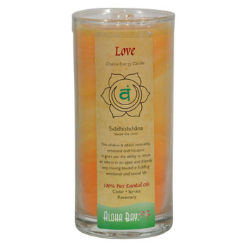 Aloha Bay - Chakra Jar Candle - Love - 11 oz