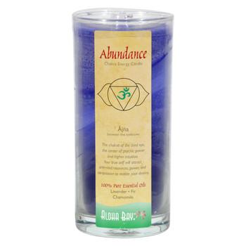 Aloha Bay Chakra Candle Jar Abundance - 11 oz