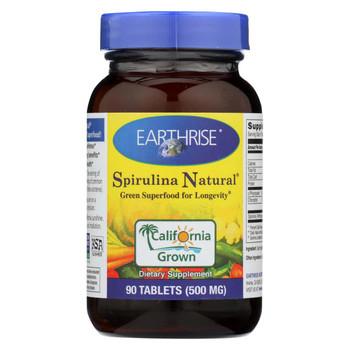 Earthrise Spirulina - 500 mg - 90 Tablets