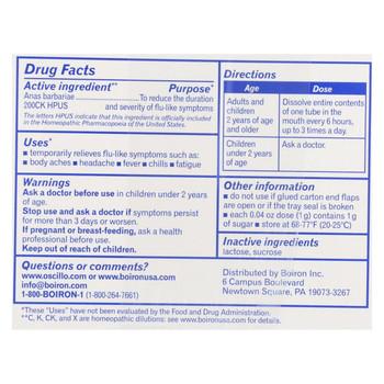 Boiron - Oscillococcinum - 12 Doses