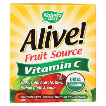 Nature's Way 100% Organic Alive Vitamin C Powder - 120 GRM
