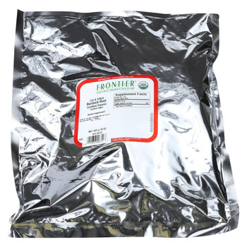 Frontier Herb Burdock Root - Organic - Cut and Sifted - Bulk - 1 lb