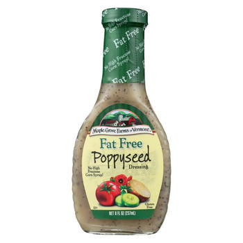 Maple Grove Farms Fat Free Poppyseed Dressing - 8 oz.