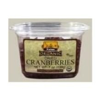 Bulk Dried Fruit - Cranberries - Fruit Juice Sweetened - Case of 5 - 1 lb.