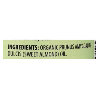 Aura Cacia - Organic Aromatherapy Sweet Almond Oil - 4 fl oz