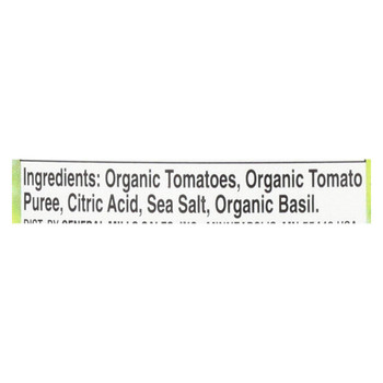 Muir Glen Crushed Tomato with Basil - Tomato - Case of 12 - 28 oz.