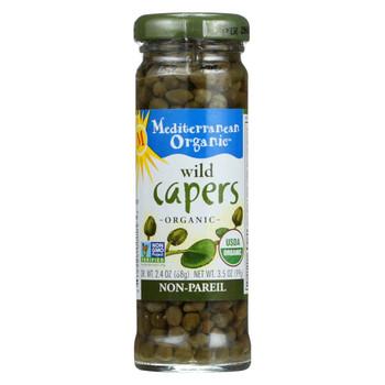 Mediterranean Organic Organic Capers - Wild - 3.5 oz