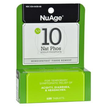 Hyland's NuAge No.10 Natrum Phos - 125 Tablets