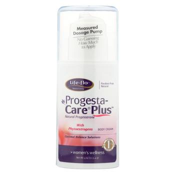 Life-Flo Progesta-Care Plus Cream For Women - 4 oz