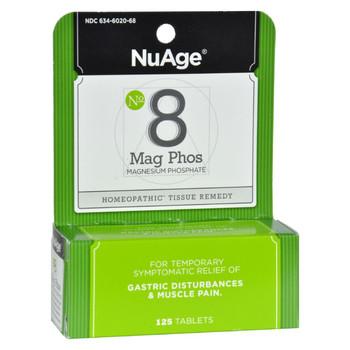 Hyland's NuAge Labs Number 8 Magnesium Phosphate - 125 Tablets