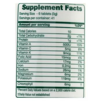 Green Foods Dr Hagiwara Green Magma Barley Grass Juice Powder - 250 Tablets