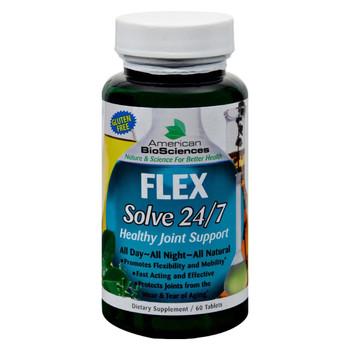 American Bio-Sciences FLEXSolve 24 7 - 60 Tablets
