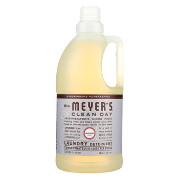 Mrs. Meyer's Clean Day - 2X Laundry Detergent - Lavender - Case of 6 - 64 oz