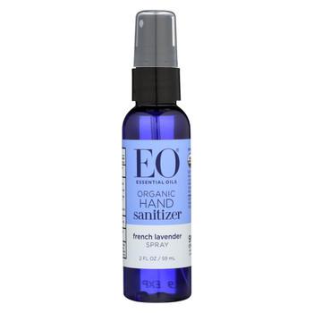 EO Products - Hand Sanitizer Spray - Lavender - 2 fl oz - Case of 6
